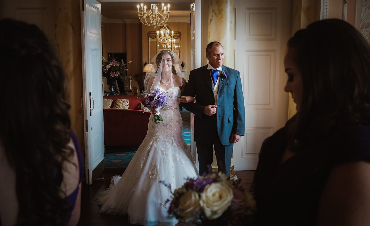 raven hall wedding photography